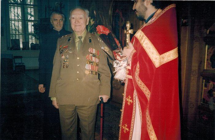 Полковник Тимофей Павлович Дегтярёв в наши дни