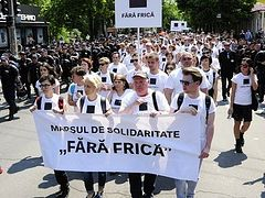 Moldovan Orthodox Church calls on gov't to ban LGBT march