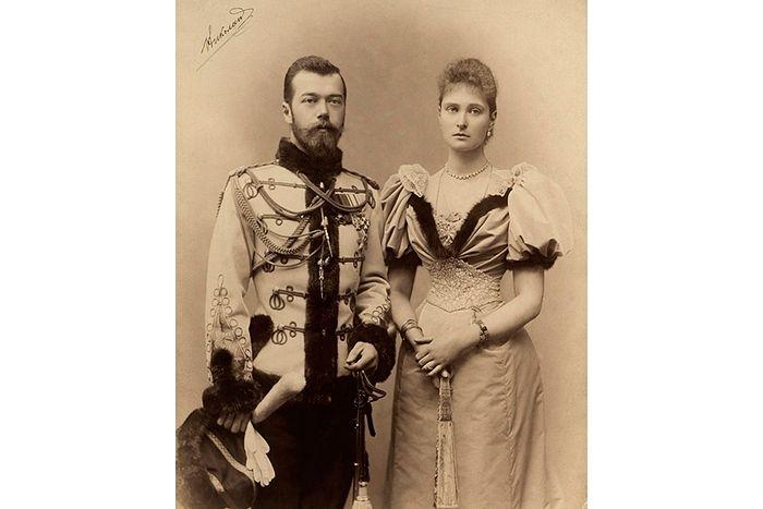 Николай II и Александра Федоровна