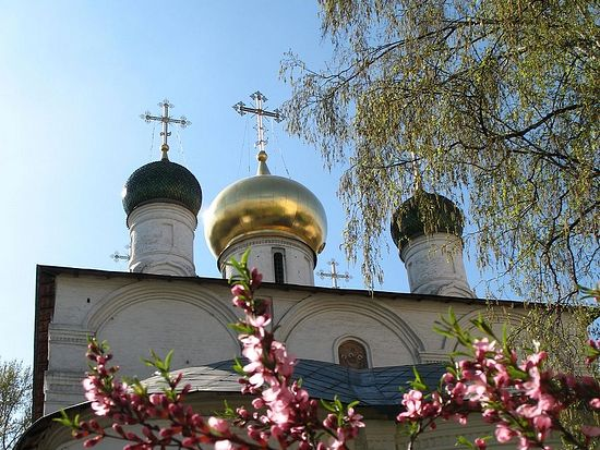 Собор Сретения Владимирской иконы Божией Матери. Сретенский монастырь