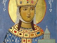 Holy Queen Tamar (†1213)