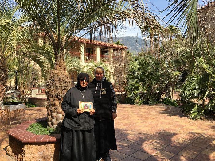 With Gerondissa Markella.