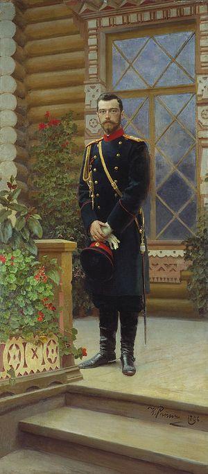 Портрет императора Николая II. Илья Репин