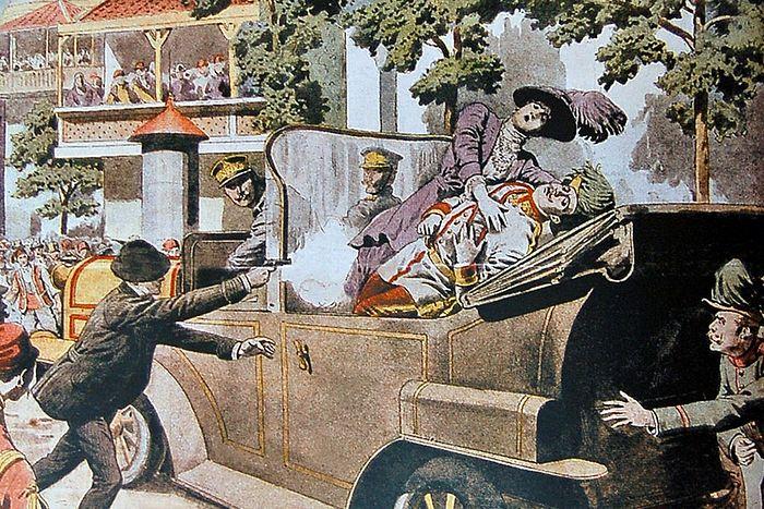 Убийство 28 июня 1914 года эрцгерцога Франца Фердинанда