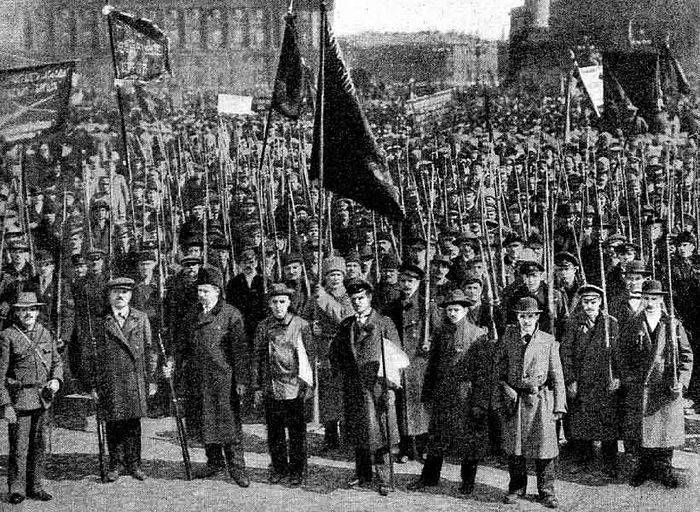 Февральская революция. 1917 год