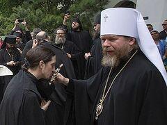 20 мая митрополит Тихон попрощается с братией и прихожанами Сретенского монастыря