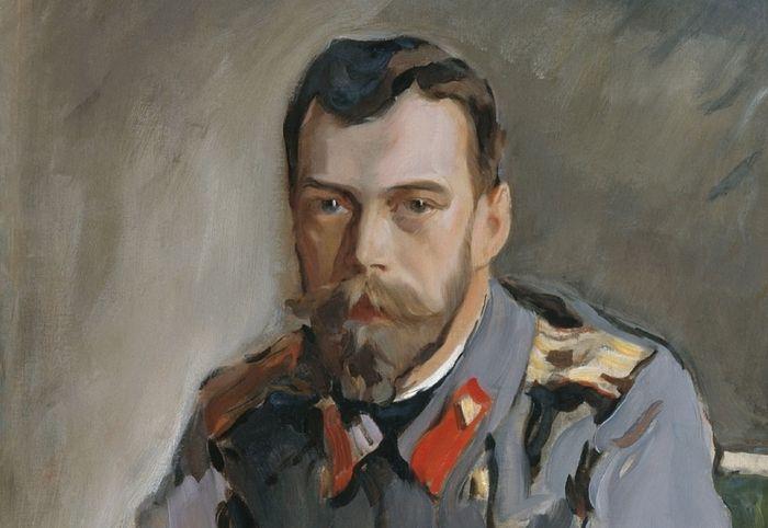 Валентин Серов. Портрет императора Николая II (1900)