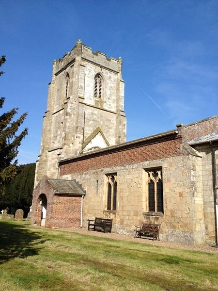 Church of St. John of Beverley in Harpham, East Riding of Yorkshire (kindly provided by the Harpham church)