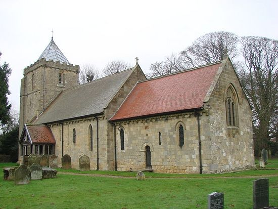 Church of St. John of Beverley in Salton, North Yorkshire (source - Geograph.org.uk)