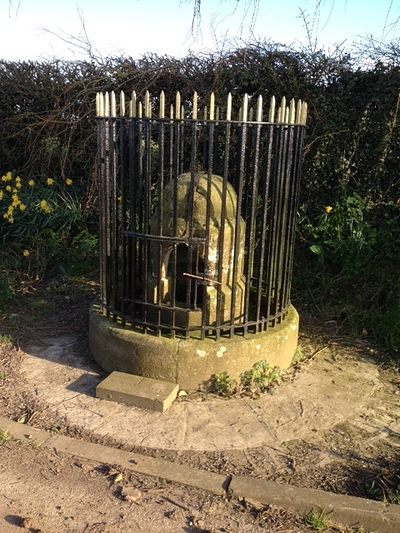 Holy well of St. John of Beverley in Harpham, East Riding of Yorkshire (kindly provided by the church of Harpham)