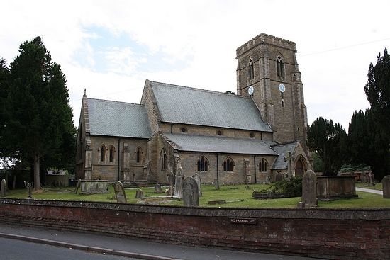 The Church of St. Michael and All Angels in Cherry Burton, East Riding of Yorkshire