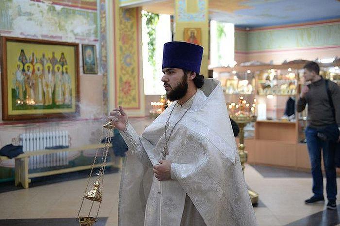 Священник Сергий Абасов