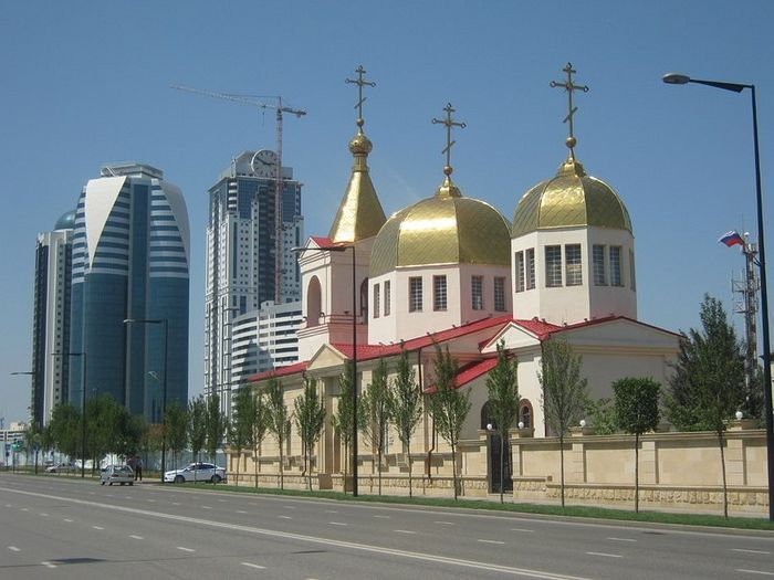 Church of the Archangel Michael in Grozny. Photo: pravolsavie.ru