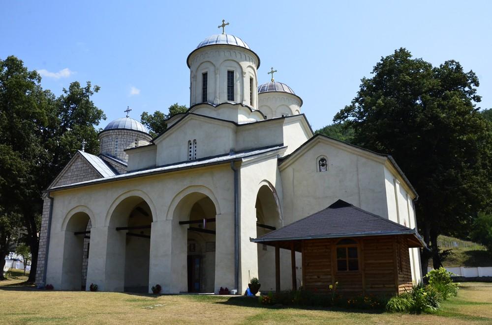 Храм святителя Николая монастыря Баня