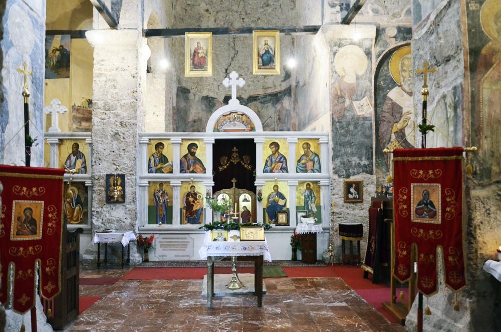Внутреннее убранство храма свт. Николая
