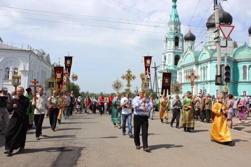26-29 мая в Яранске состоится Матфеевский крестный ход