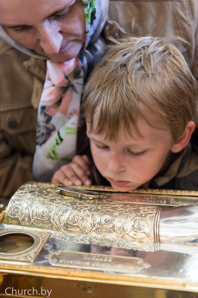 В Минск из Нью-Йорка был принесен ковчег с десницей святой преподобномученицы Елисаветы Феодоровны