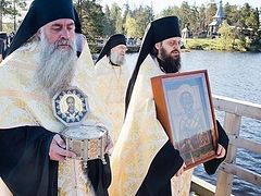 VIDEO: Valaam Monastery opens pilgrimage season with procession in honor of St. Nicholas the Wonderworker