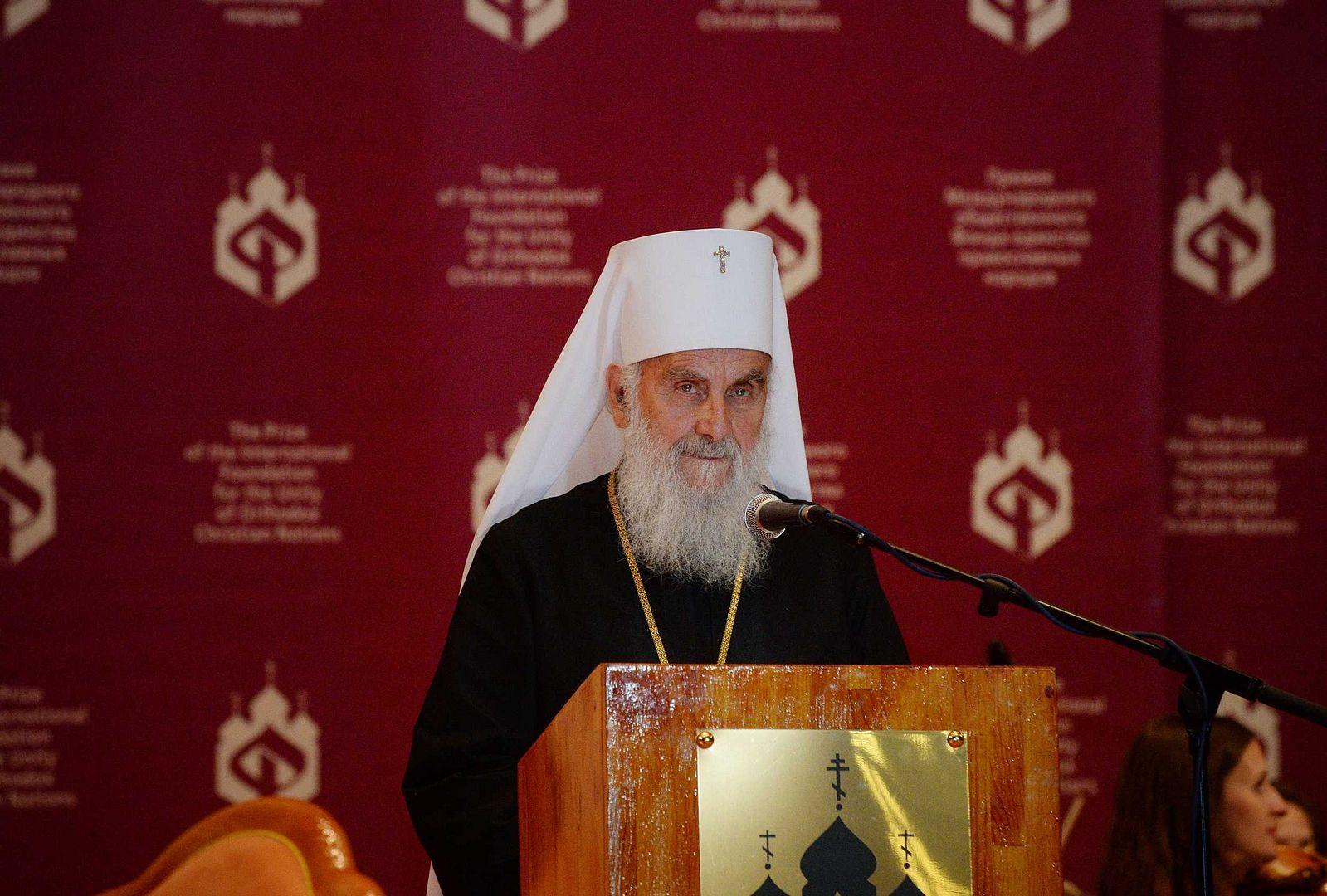 Патриарх Сербский Ириней: Всякий, кто помогает украинским раскольникам, — враг всех православных славянских народов и всего православного мира