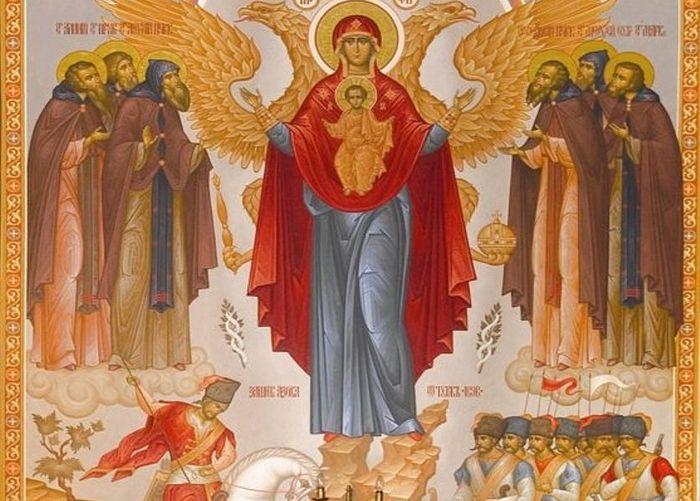 Азовская икона Пресвятой Богородицы в Свято-Ильинском храме