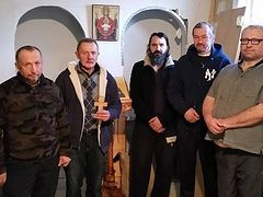 Former homeless in NY serving priestless services in Orthodox House of Mercy