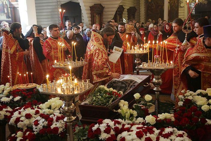 Отпевание. Фото: Екатеринбургская епархия