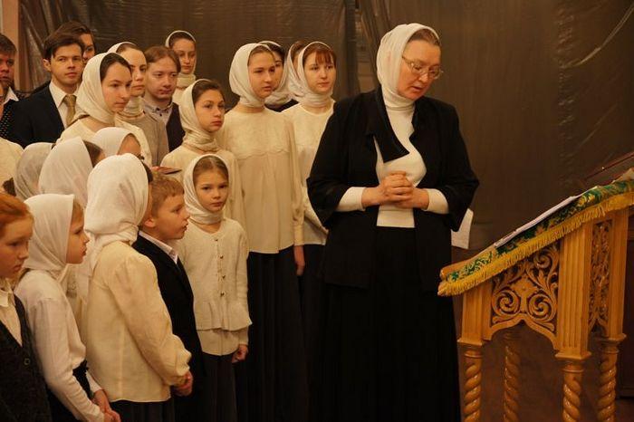 Ирина Валентиновна Болдышева с хором