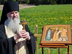 Foundation for chapel of St. Herman of Alaska laid on Valaam (+ VIDEO)