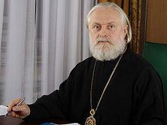 Archbishop Evgeny of Verey elected head of Estonian Orthodox Church