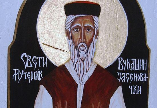 Святой мученик Вукашин Ясиноватский. Современная икона. Изображение: a-g-popov.livejournal.com