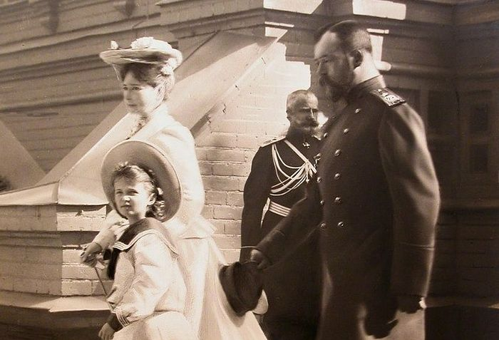 Посещение Спасова Скита Императорской Семьей (фото Алексея Иваницкого)