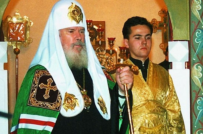 Subdeacon of His Holiness Patriarch Alexei II of Moscow and All Russia Daniel Lugovoy.