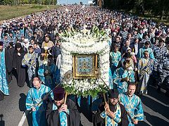 Procession with wonderworking Kursk Root Icon to mark 400th anniversary in June