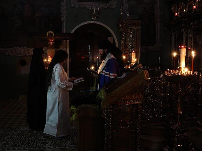 Постриг Анастасии Рахлиной в монахини