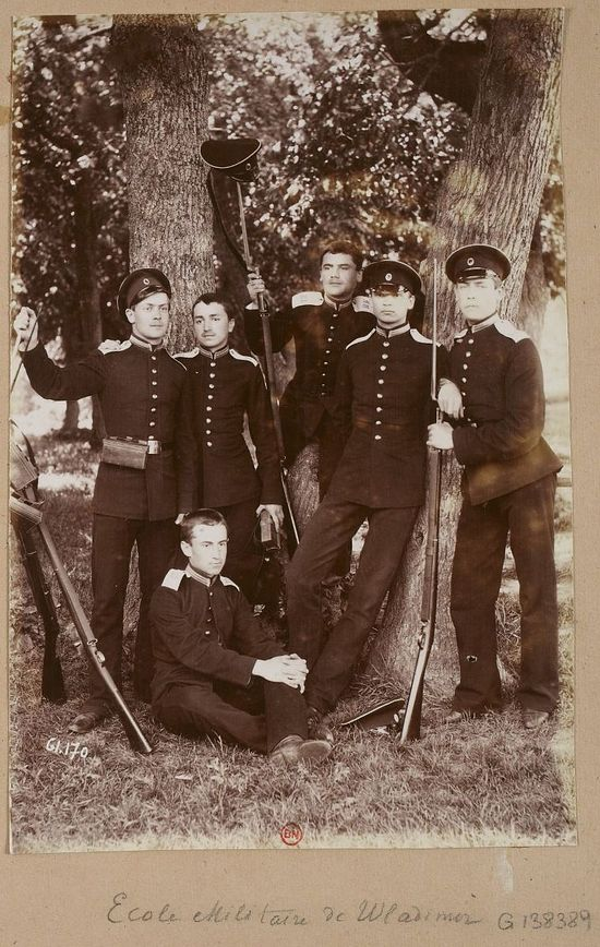 Military cadets in the Russian Empire.