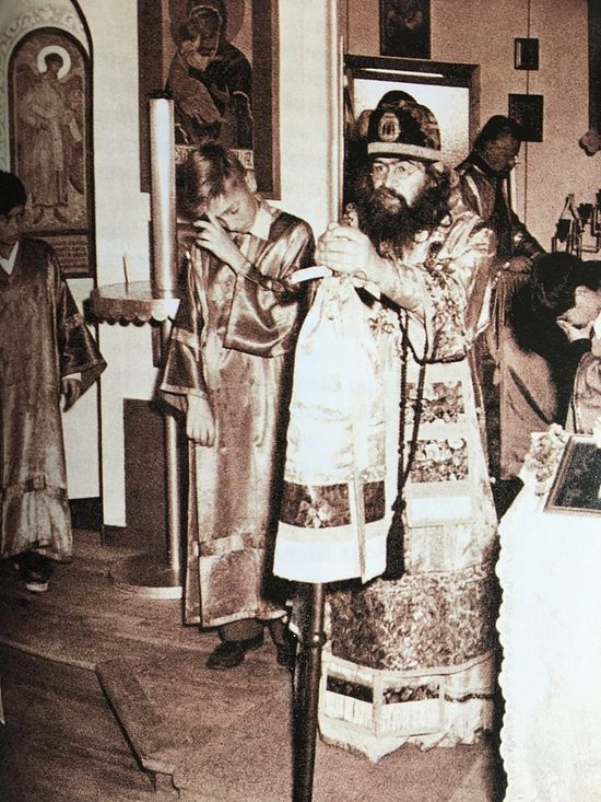 Archbishop John in Shanghai.