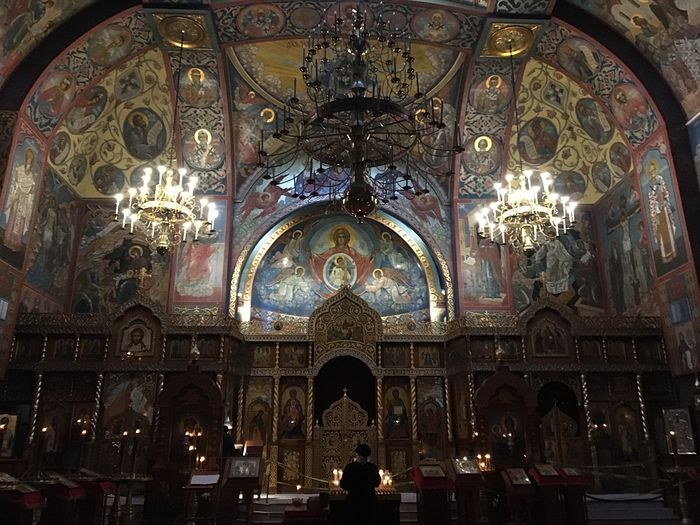 The Russian cathedral in San Francisco.