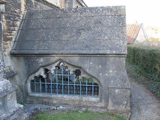 Crypt of Thomas Ken at St. John the Baptist's Church in Frome, Somerset