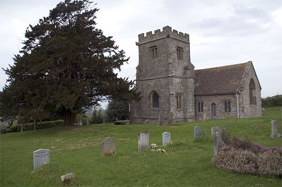 St. Aldhelm's Church in Belchalwell, Dorset (photo from Wikipedia)