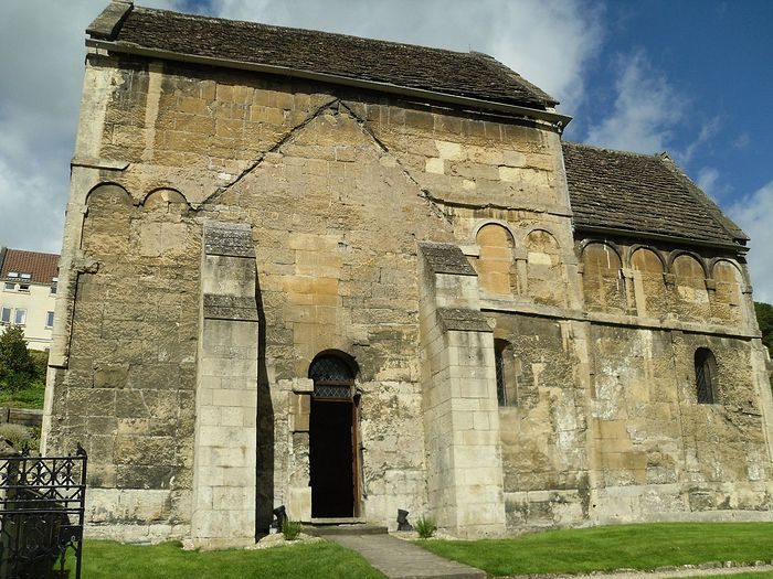 The Saxon Church of St. Laurence in Bradford-on-Avon, Wiltshire (photo by Irina Lapa)