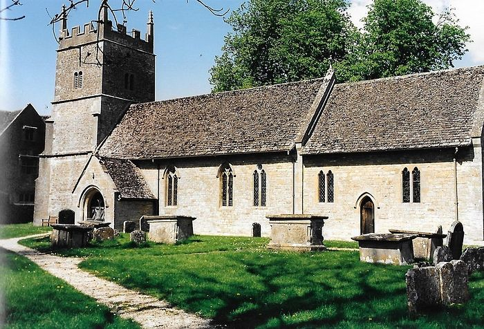 Exterior of All Saints' Church in Somerford Keynes, Glos (kindly provided by the church's fabric officer)