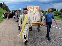 435-mile procession in honor of Royal Martyrs begins in Tobolsk