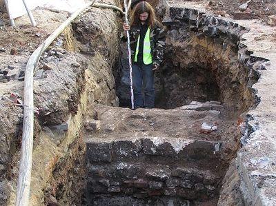 Фрагменты здания и ограды Златоустовского монастыря нашли в центре Москвы
