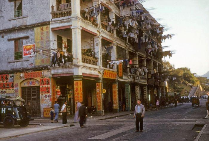 Гонконг в пятидесятые годы