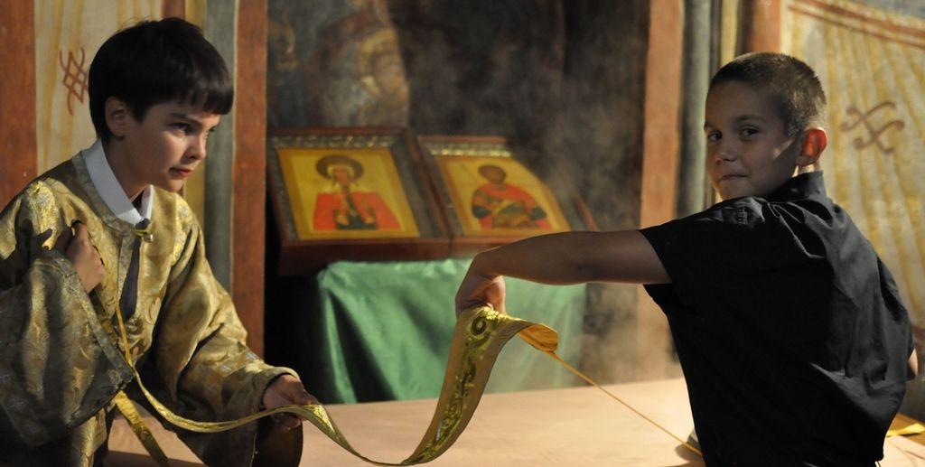 Денис Ахалашвили. Монастырские мальчишки / Православие.Ru