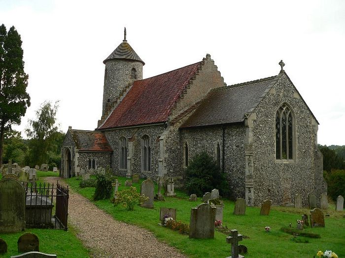 Church of Sts. Mary and Walstan in Bawburgh, Norfolk