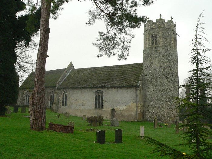 St. Edmund's Church in Taverham, Norfolk