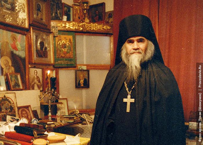 Архимандрит Адријан (Кирсанов). Фото: митрополит Тихон (Шевкунов)