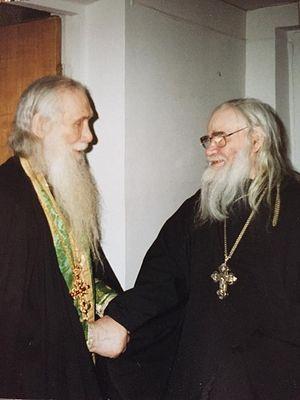 Старци Кирил (Павлов) и Адријан (Кирсанов)