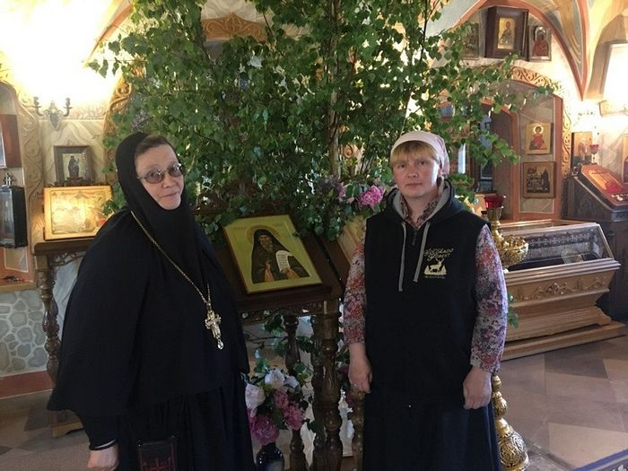 With Mother Anastasia